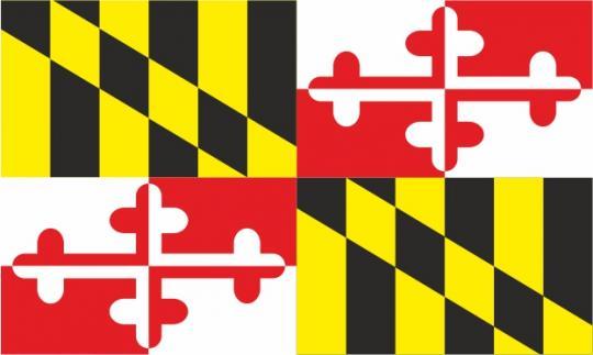 Флаг штата Мэриленд(США)