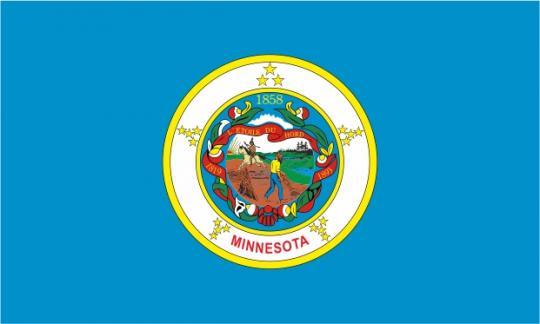 Флаг штата Миннесота(США)