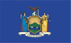 Флаг штата Нью-Йорк(США)