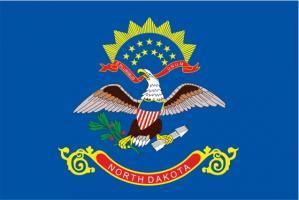 Флаг штата Северная Дакота(США)