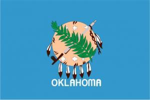 Флаг штата Оклахома(США)