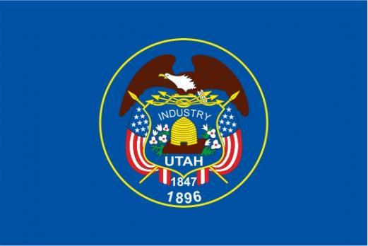 Флаг штата Юта(США)