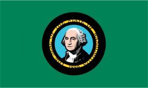 Флаг штата Вашингтон(США)