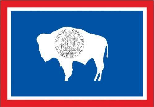 Флаг штата Вайоминг(США)