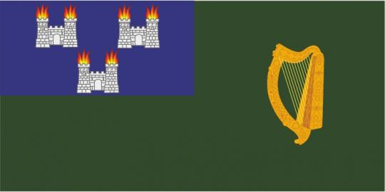 Флаг города Дублин