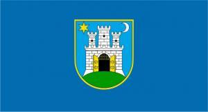 Флаг города Загреб