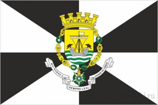Флаг города Лиссабон