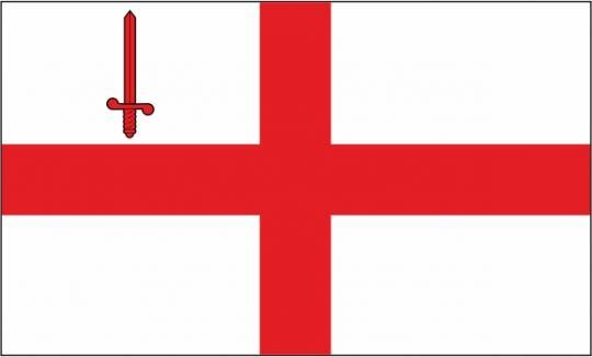 Флаг города Лондон