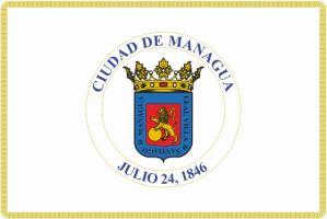 Флаг города Манагуа