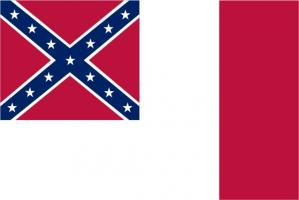 Флаг Конфедеративные Штаты Америки
