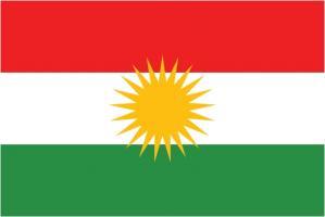 Флаг Курдистан